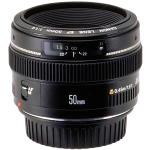 EF 50 mm f/1.4 USM CANON 2515A012
