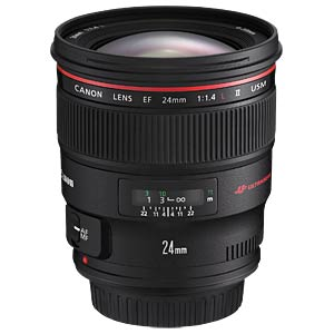 Objektiv: 24mm - F1,4 - EF CANON 2750B005
