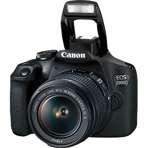 EOS 2000D 1855 - digitale Spiegelreflexkamera (DSLR)