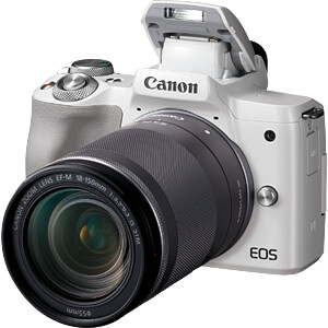 EOS M50 18-150WS - Bridgekamera/digitale Systemkamera