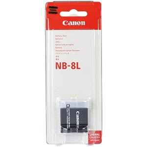 Battery for Canon Digital Cameras CANON 4267B001