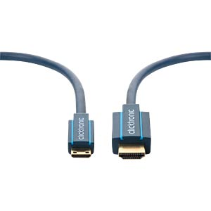 Casual Mini HDMI Adapterkabel, 2 m CLICKTRONIC 70322