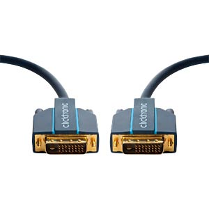 Clicktronic Casual DVI-D cable 10 m CLICKTRONIC 70336