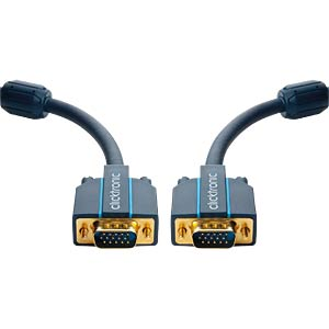Clicktronic Casual VGA connecting cable 7.5 m CLICKTRONIC 70354