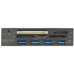 "3,5"" -  MultiFrontpanel  - USB3.0 - Cardreader DELOCK 91493"