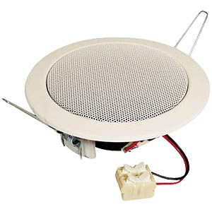 VISATON ceiling-mounted speaker, 10 cm, white VISATON 50110