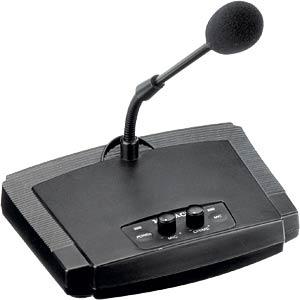 ELA-Elektret-Tischmikrofon MONACOR 23.3370