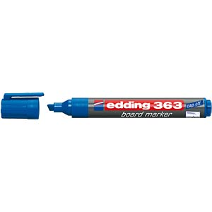 Whiteboard Marker, 1,0 - 5,0 mm, blau EDDING 4-363003