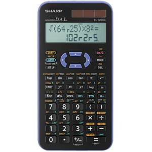 Scientific school calculator SHARP EL-520XG-VL