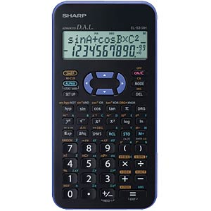 Scientific school calculator SHARP EL-531XHVL