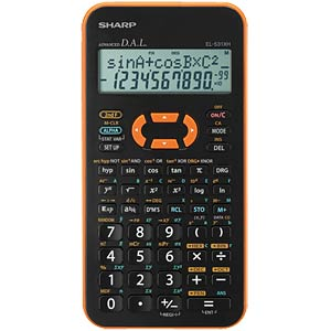Scientific school calculator SHARP EL-531XHYR