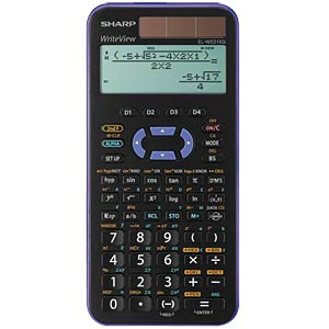 Scientific school calculator SHARP EL-W531XG-VL