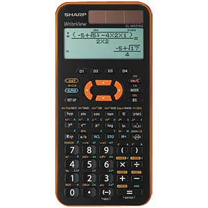 Scientific school calculator SHARP EL-W531XG-YR