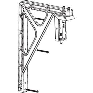 GV 14X10EB - L-Form Verlängerung für Wandbefestigungen 35,5x25,4cm (14x10'')