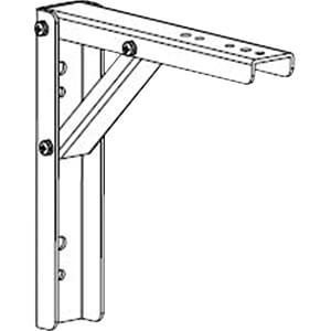 GV 200X200SMEB - 20,0x20,0cm (8x8'') Halterungs-Verlängerung aus Metall
