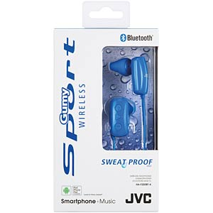 Bluetooth headphone / blue JVC HAF250BTAE