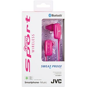 Sport- / Bluetooth Kopfhörer, In-Ear, pink JVC HAF250BTPE
