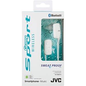 Sport- / Bluetooth Kopfhörer / weiß JVC HAF250BTWE