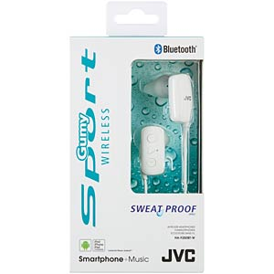Bluetooth headphone / white JVC HAF250BTWE