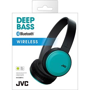 Bluetooth Kopfhörer, On-Ear, türkis JVC HA-S30BT-A-E