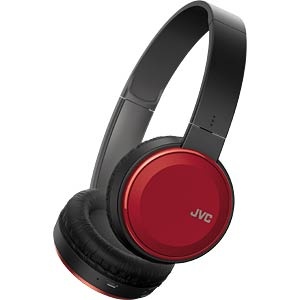 On-Ear / Bluetooth Kopfhörer / rot JVC HA-S30BT-R-E