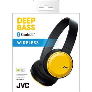 On-Ear / Bluetooth Kopfhörer / gelb JVC HA-S30BT-Y-E