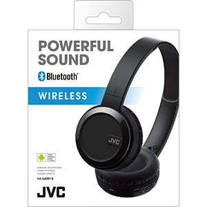 On-Ear Bluetooth Headphone / black JVC HA-S40BT-B-E