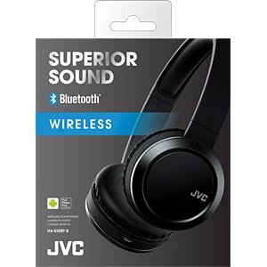 On-Ear / Bluetooth Kopfhörer / schwarz JVC HA-S50BT-B-E