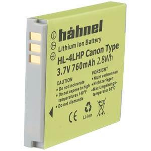Lithium Ion battery for Digital Cameras HÄHNEL HL-4LHP