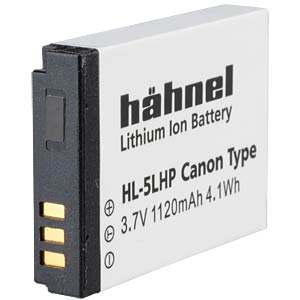 Lithium Ion battery for Digital Cameras HÄHNEL HL-5LHP