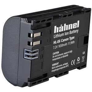 Lithium Ion battery for Digital Cameras HÄHNEL HL-E6