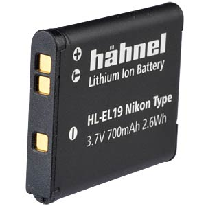 Lithium Ion battery for Digital Cameras HÄHNEL HL-EL19