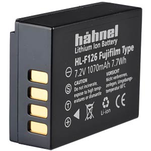 Lithium Ion battery for Digital Cameras HÄHNEL HL-F126