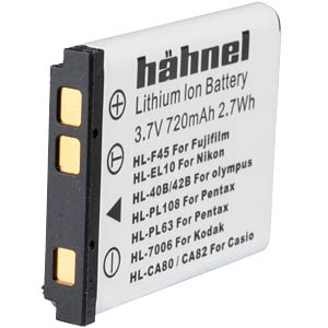 Lithium Ion battery for Digital Cameras HÄHNEL HL-F45