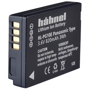 Lithium Ion battery for Digital Cameras HÄHNEL HL-PG10E