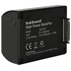 Video - batteries HÄHNEL 1000 597.0