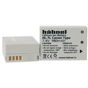 Digital camera - batteries HÄHNEL HL-7L