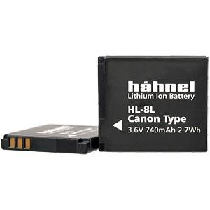 Digitalkamera - Akkus HÄHNEL HL-8L