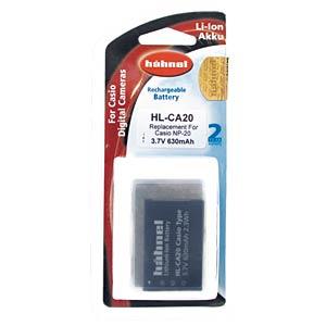 Digital camera - batteries HÄHNEL HL-CA20