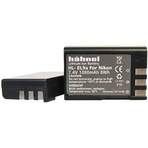 Akku, Digitalkamera, kompatibel, 1080 mAh, Nikon HÄHNEL HL-EL9A