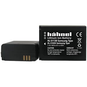 Akku, Digitalkamera, kompatibel, 860 mAh, Samsung HÄHNEL HL-S1130