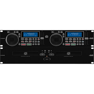 IMG CD-292USB - Professioneller DJ-Dual-CD- und MP3-Spieler