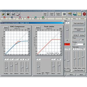 Digital speaker management system IMG STAGE LINE DSM-260LAN