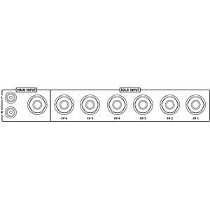 Stereo-Kopfhörerverstärker IMG STAGE LINE PPA-100/SW