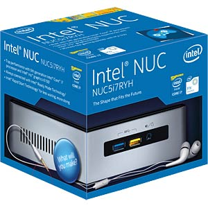 Mini-PC Intel® NUC-Kit NUC5i7RYH INTEL BOXNUC5I7RYH