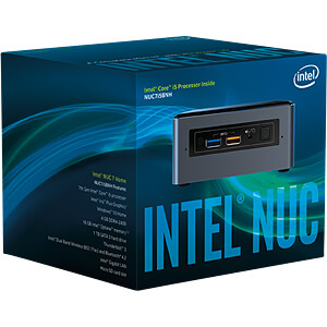 Mini-PC, NUC-Kit, NUC7i5BNHXF INTEL BOXNUC7I5BNHXF