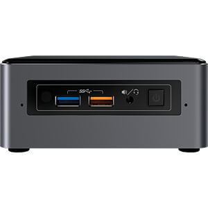 Mini-PC, NUC-Kit, NUC7I7BNH INTEL BOXNUC7I7BNH