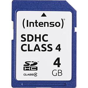 INTENSO SDHC4G - SDHC-Speicherkarte 4GB