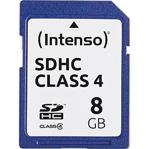 INTENSO SDHC8G - SDHC-Speicherkarte 8GB