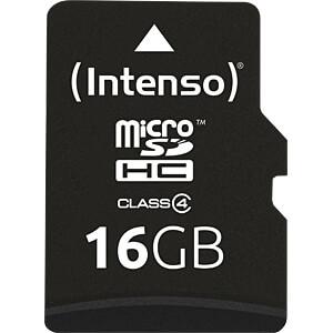 INTENSO MSDHC16G - MicroSDHC-Speicherkarte 16GB